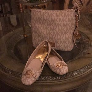 Purse with matching shoes